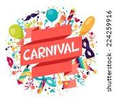 celebration festive background... | Shutterstock .eps vector #224259916
