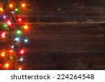 christmas light background | Shutterstock . vector #224264548