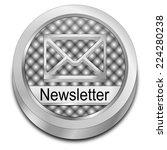 newsletter button | Shutterstock . vector #224280238