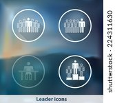 modern transparent icons with... | Shutterstock .eps vector #224311630