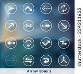 modern transparent icons with...