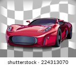 sports car | Shutterstock .eps vector #224313070