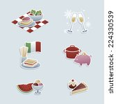 food concepts icons  special... | Shutterstock .eps vector #224330539