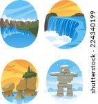 Canadian Nature Landmarks...