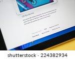 paris  france   17 october 2014 ... | Shutterstock . vector #224382934