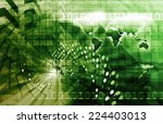 global business or... | Shutterstock . vector #224403013