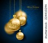 vector illustration of... | Shutterstock .eps vector #224410294