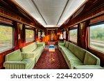 interior of luxury vinitage old ... | Shutterstock . vector #224420509