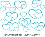 love | Shutterstock . vector #224423944