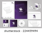 concept of branding logo for... | Shutterstock .eps vector #224459494