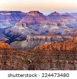 Sunset At Grand Canyon Nationa...