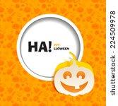 vector illustration of orange... | Shutterstock .eps vector #224509978
