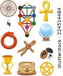 Magical Symbols And Elements...