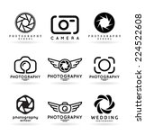 vector icons for photographers  ... | Shutterstock .eps vector #224522608