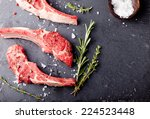 Raw Meat  Mutton  Lamb Rack...