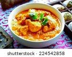 chicken tikka masala | Shutterstock . vector #224542858