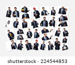 businessman images collection | Shutterstock . vector #224544853