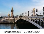 pont alexandre iii in paris | Shutterstock . vector #224550220