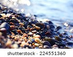 Colorful Pebbles Pebbles On Th...