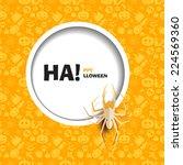 vector illustration of yellow... | Shutterstock .eps vector #224569360