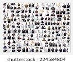 senior businessman photos group   Shutterstock . vector #224584804