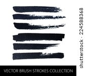 vector collection of brush... | Shutterstock .eps vector #224588368