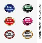 best product icon vector set  | Shutterstock .eps vector #224621323