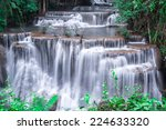 Beautiful Waterfall And Green...