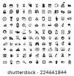 icons. vector format | Shutterstock .eps vector #224661844