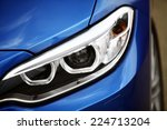 detail on one of the led... | Shutterstock . vector #224713204