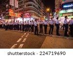 hong kong  oct 16  hongkong...   Shutterstock . vector #224719690
