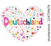 deutschland | Shutterstock .eps vector #224739676