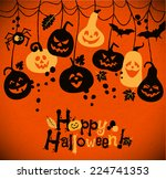halloween background of...