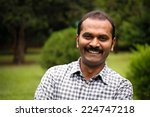 happy  smiling indian male or... | Shutterstock . vector #224747218