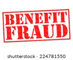 benefit fraud red rubber stamp... | Shutterstock . vector #224781550