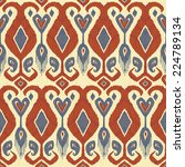 traditional asian fabric... | Shutterstock .eps vector #224789134