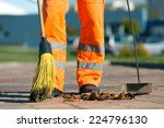 city street male or female... | Shutterstock . vector #224796130