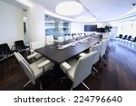 bright and spacious conference... | Shutterstock . vector #224796640