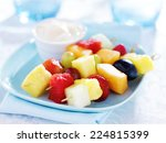 Children's Fruit Kabob With...