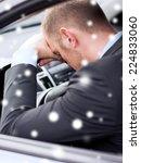 transportation  danger  people... | Shutterstock . vector #224833060