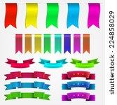 vector illustration of colored...   Shutterstock .eps vector #224858029
