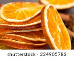 Slices Of Dried Orange ...