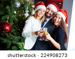 Friendly Co Workers In Santa...