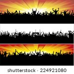 advertising banners for sports... | Shutterstock .eps vector #224921080