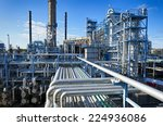 oil and gas industry in... | Shutterstock . vector #224936086