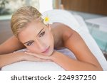 close up of a beautiful young...   Shutterstock . vector #224937250