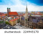 beautiful city centre view of... | Shutterstock . vector #224945170