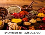 indonesian seasoning with...   Shutterstock . vector #225003700
