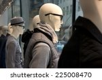 mannequins in a storefront... | Shutterstock . vector #225008470