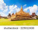 Temple Golden Wat Thap Luang In ...